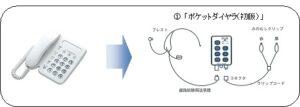 (1) ポケットダイヤラの歩み